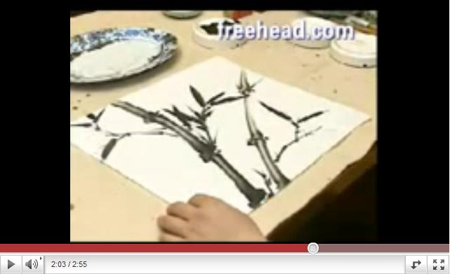 How to Paint Bamboo in Chinese Painting