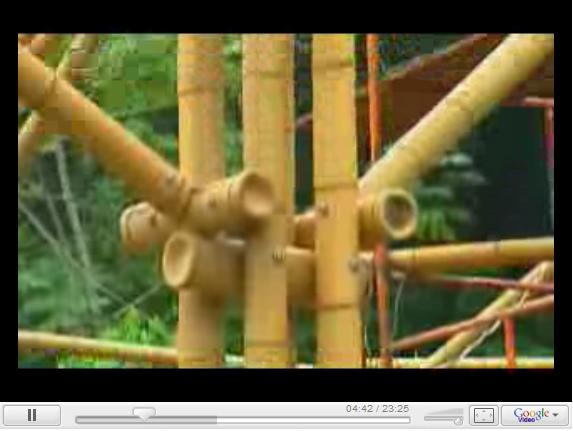 Globo News - Cidades e Soluções - Construções com bambu